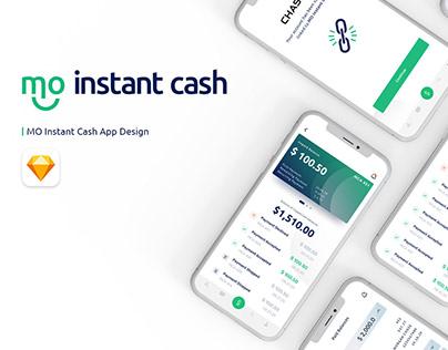 MO Instant Cash Mobile App UI/UX