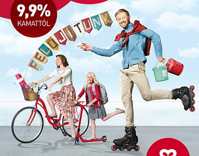 BudapestBank Ad - Felújítunk