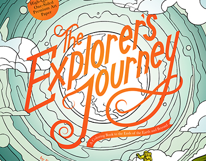 The Explorer's Journey (Coloring Book)