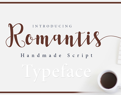 Romantis Typeface