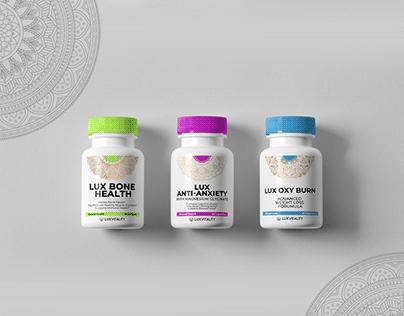 Lux Supplements Labeling