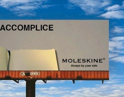 Moleskine Extension Ads
