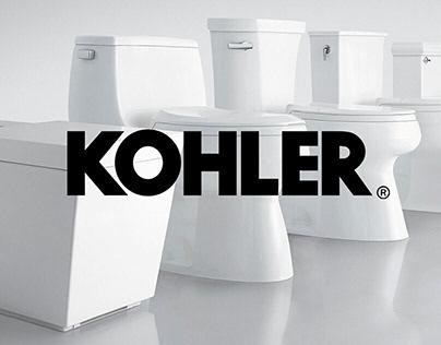 Kohler Co. Toileting Portfolio // 2016 - 2018