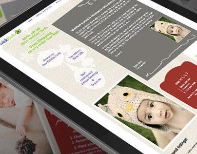 Personal Promotion :: Web design challenge