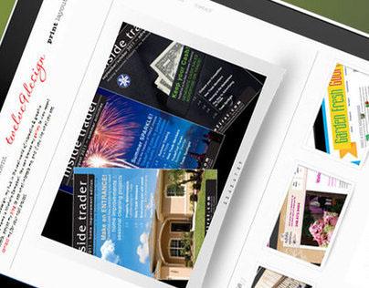 Personal Portfolio Website [preview] :: twelve9design