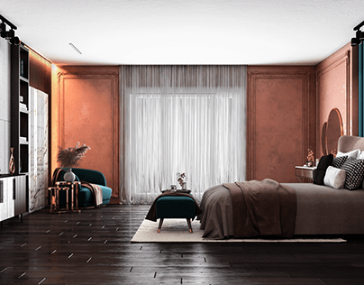 Postmodern Bedroom