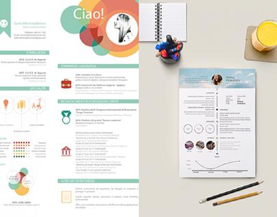 8 phong cách thiết kế mẫu CV xin việc