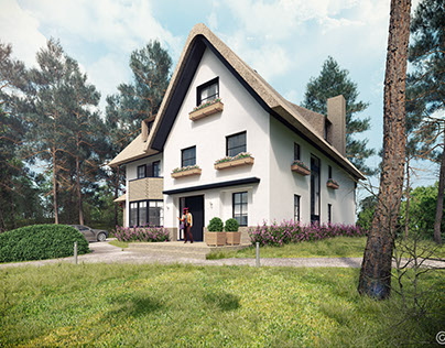 CG villa impression