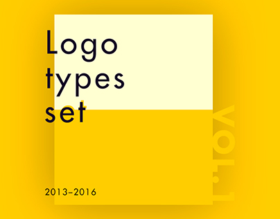Logotypes vol. 1