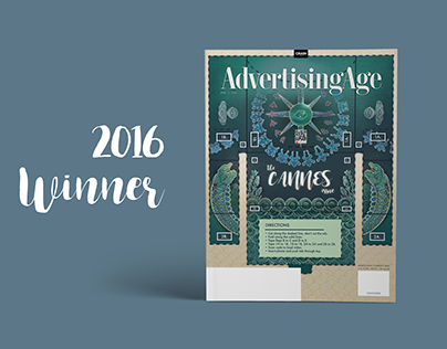 Winner: 2016 Ad Age Young Creatives Cover Contest