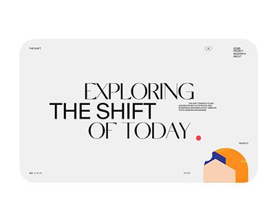 THE SHIFT Website renewal