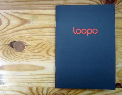 Loopo typeface sample book