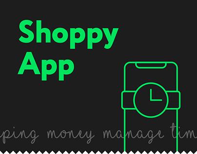 Shoppy App Design Concept for iOS