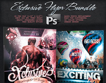 Exclusive Flyer Bundle Vol.4