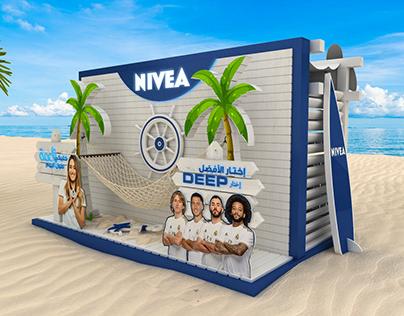 3D Design Nivea summer Modern Trade