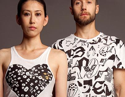 YEE YEE, cut & sew T shirts