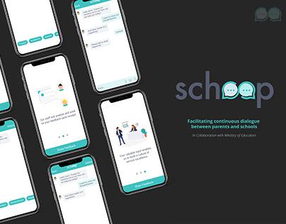 Schoop   School x Parents feedback channel