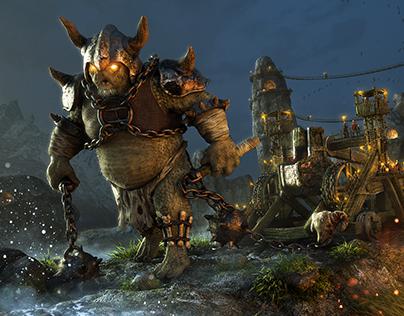 Troll Army | Fantasy art
