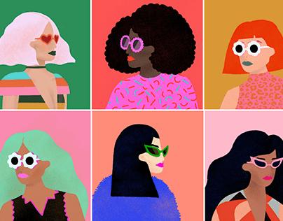 Women's Day Portraits