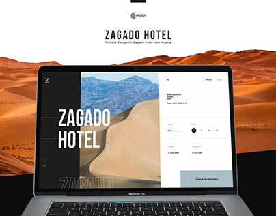 Website Zagado Hotel