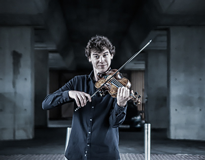 The violinist - Photography& Photo Retouch