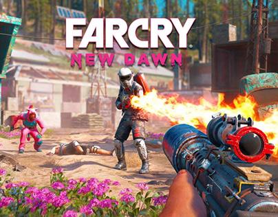 Far Cry New Dawn UI