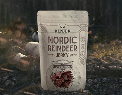 Nordic jerky packaging