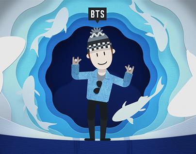 BTS Bon Voyage S4 : Opening Titles