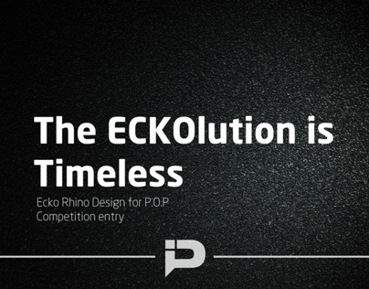 The Eckolution is Timeless. Competition Entry (Winner)
