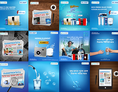 Instagram Ads Banner - CleanTech Engineering