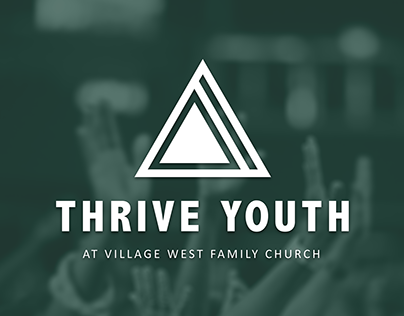 Thrive Youth Logo Design | Village West Family Church
