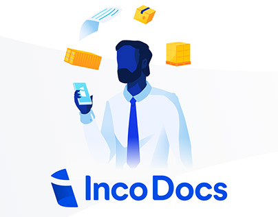 IncoDocs - Brand Update & Illustrations
