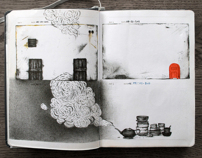 Visual Journal: 1 sketch A Day