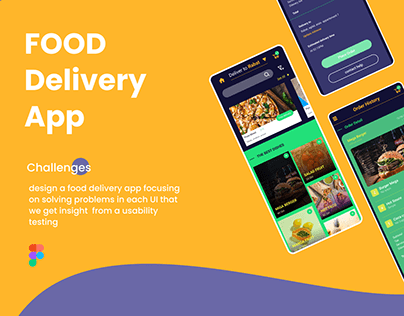 food delivery app (case study)