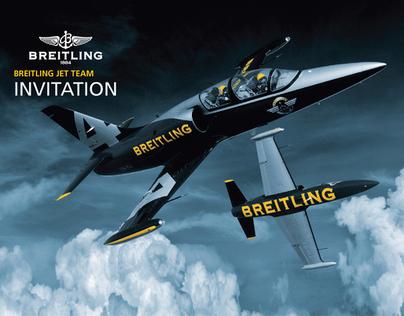 Breitling Jet Team  Facebook Branding