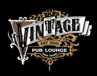 Vintage Pub logo design