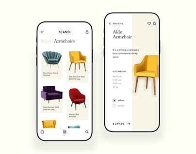 Furnitures Shopping Application