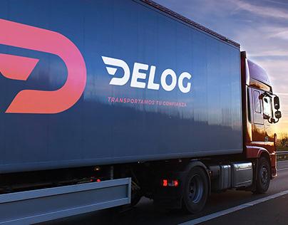 DELOG Transporte y Logística − Branding + D. de Arte
