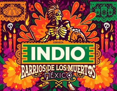 Barrios de los Muertos 2018 de Cerveza INDIO