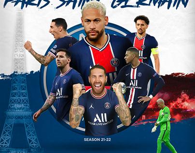 Flyer Paris Saint Germain season 20-21