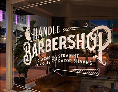 Handle Barbershop | Brand Identity Design