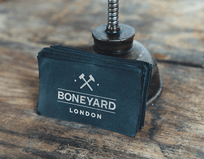 BONEYARD LONDON LOGO & ICON
