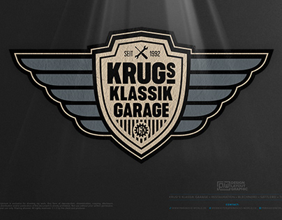 KRUG'S KLASSIK GARAGE • The Logo