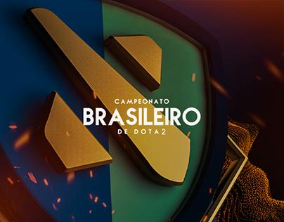 IDENTIDADE VISUAL - Campeonato Brasileiro de DOTA2