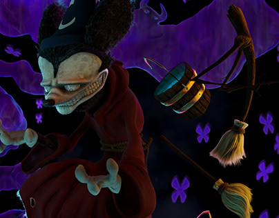 Mickey The Conjurer