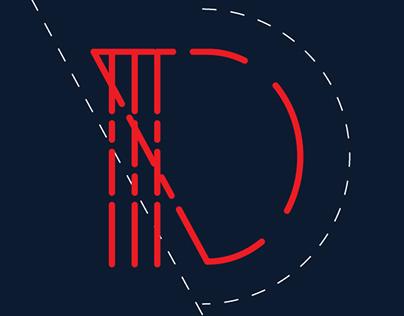DEmark'15, Custom Typeface