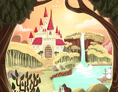 Board Game Illustrations