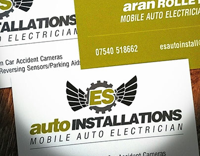 Logo and Business Card Design - A S Auto Installations