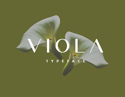 Free - Viola Typeface