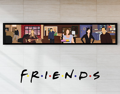 A tribute for 25 years of Friends series!